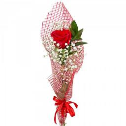 Как красиво оформить одну розу в подарок 73